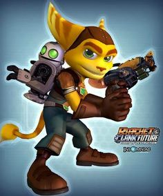 Ratchet and Clank, for Halloween