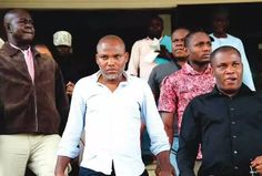 Dmegy's Blog: JUST IN: Nnamdi Kanu Appears In Court Over Treason...
