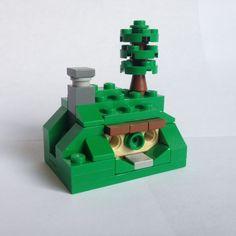 Microscale LEGO Helms Deep, Minas Tirith and Bag End – eoghann.com