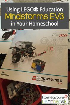 LEGO® Education Mindstorms EV3 in your homeschool
