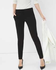 White House | Black Market Seasonless Ankle Pants  #whbm