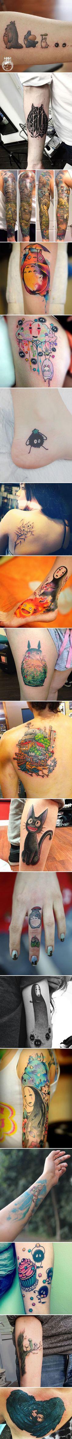 Studio Ghibli Tattoos Inspired By Miyazaki Films - 9GAG