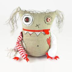 Hey, I found this really awesome Etsy listing at https://www.etsy.com/listing/201499631/worry-monster-doll-stuffed-monster-toy