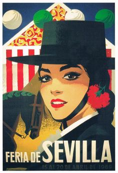 Cartel Feria de Primavera de Sevilla 1969
