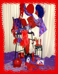 """Linda's Red Hat Chair Autobiographical Still Life With Chair """"The Seat Of Your Reason"""""""