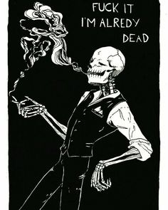 All things Skulduggery Pleasant We All Mad Here, Art Et Design, Skeleton Art, Funny Skeleton, Skeleton Drawings, Skull Art, Dark Art, Art Inspo, Tattoo Designs