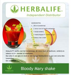 Bloody marry shake