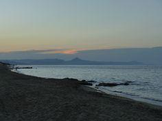 Atardecer en la Playa de Las Marinas...