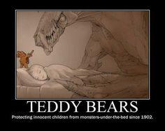 Go teddy!