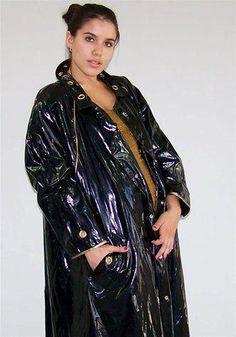 Rain coat For Women Pattern - - - - Olive Rain coat Outfit Vinyl Raincoat, Pvc Raincoat, Plastic Raincoat, Hooded Raincoat, Girls Raincoat, Raincoat Outfit, Raincoat Jacket, Rain Jacket, Raincoats For Women