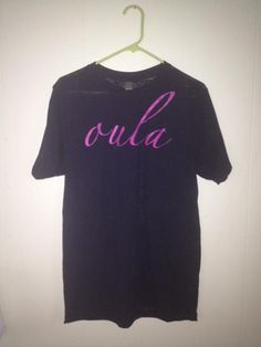 Comfy loose fit Oula burnout Tee
