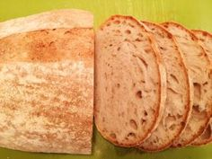 Biely chlebík s lievito madre – Krhlovci Bread, Ethnic Recipes, Food, Basket, Meal, Essen, Hoods, Breads, Meals