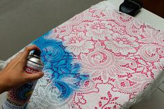 How to Make a Lace Print Shirt: 13 steps (with pictures)