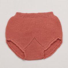 Knitted Bloomer – Vintage Pink
