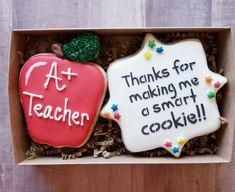 Teacher Appreciation sugar cookies