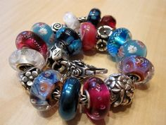 Blue Haematite with Pinks - Trollbeads Gallery Forum