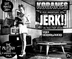 Next show announcement!! Were super excited to be part of @kobanes666 10 year anniversary show with @jerk_punkrock from Vegas! SATURDAY APRIL 28th!! #punk #punkrock #chicagopunkrock #liveshow #livemusic #supportlocalmusic #liveband #chicago #themutinychicago #originalpunk #originalmusic #kickassnightofmusic #greatlineup #ihatefuckinghashtags