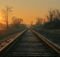 There's just something about train tracks and this photography is incredible, I want to start taking pictures like this.