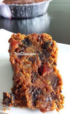 Black Cake in Trinidad & Tobago