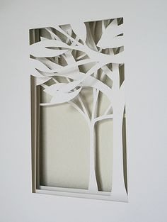white forest by A Little Hut, via Flickr
