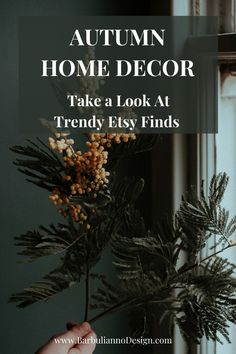 Autumn Home Decor With Trendy Etsy Pieces. Take a peek at carefully sellected stunning home decor pieces you can shop directly from the maker. #autumndecorating #autumndecor #autumndecorationsindoor #autumndecorbudgetfriendly #autumndecorlivingroom #autumndecorkitchen