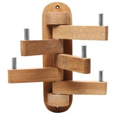 Country Rustic Wall Mounted Wooden 5 Swivel Coat Hooks / Hats Garment Clothing Hanger / Towel Holder Rack - Buy Online in United Arab Emirates. Intarsia Woodworking, Woodworking Box, Woodworking Projects Diy, Diy Wood Projects, Wood Crafts, Woodworking Patterns, Woodworking Beginner, Woodworking Organization, Unique Woodworking