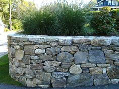Stonewall Project Photos create with Historic New England Fieldstone