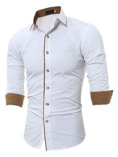 b80d9ad6f55 Tbdress.com offers high quality Lapel Patchwork Ethnic Linen Slim Printed  Men s Shirt Men s Shirts · Branded ShirtsLong Sleeve ShirtsLong Sleeve  Hawaiian ...