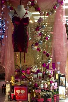 The Romance Shop Christmas 2016 theromanceshop.org PropaganZa Visual Display & Design Visual Display, Display Design, Christmas Window Display, Christmas 2016, Romance, Formal Dresses, Shopping, Formal Gowns, Romantic Things