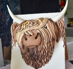 Angus - cake by Fondant Fantasies of Malvern