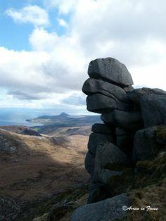 Made in Scotland Magazine | Features | Arran in Focus. Old Man of Tarsuinn, Arran.