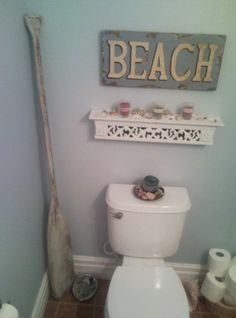 99 Perfect For A Beach Themed Bathroom Ideas (83) (Diy Bathroom Ideas)