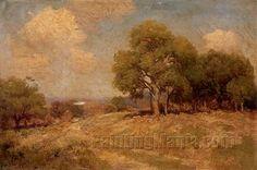 A Grove of Live Oak Trees, Southwest Texas