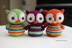 Amigurumi Baby Owls - Tutorial ❥Teresa Restegui http://www.pinterest.com/teretegui/❥