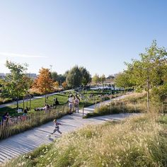 Martin Luther King Park by Atelier Jacqueline Osty & associes   Landscape Architecture Works | Landezine