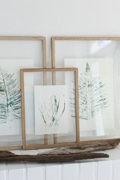 Plant prints to make yourself and hang up- Pflanzendrucke zum Selbermachen und Aufhängen Plant prints to make yourself and hang up # hang up # plant prints # do it yourself - Art Diy, Deco Floral, Wine Bottle Crafts, Deco Design, Home And Deco, Hanging Plants, Diy Hanging, Cool Diy, Diy Wall