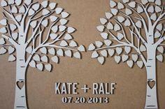 Custom wedding guest book alternative  3D by TotallySalinda, $150.00