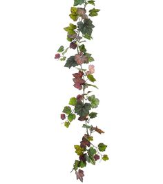 66'' Grape Ivy Garland with Berry