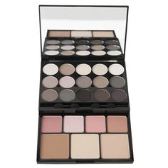 """I have both Urban Decay's Naked palettes, but I want to get this one as well. It's the NYX Butt Naked palette with 15 neutral matte and shimmery eye shadows, 4 rosy blushes, 2 cheek illuminators, and 1 defining bronzer. It'll go great with my """"Naked"""" collection!"""