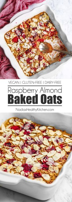 The snack is a topic that is talking about nutrition. Is it really necessary to have a snack? A snack is not a bad choice, but you have to know how to choose it properly. The snack must provide both… Continue Reading → Baked Oatmeal Recipes, Baked Oats, Healthy Baked Oatmeal, Breakfast Bake, Healthy Breakfast Recipes, Recipes With Oats Healthy, Vegan Oats Breakfast, Healthy Breakfasts, Vegan Baking