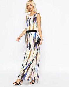 Selected Alberte Printed Maxi Dress at asos.com #maxidress #women #covetme