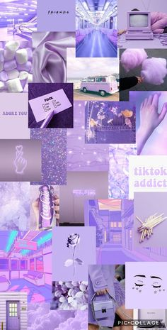 light purple aesthetic