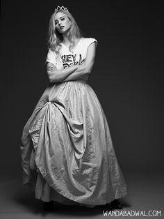 """Little Miss Sassy"" www.wandabadwal.com  Princess, Black,Sassy,Berlin,Fashion,Girl,Photography"