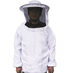 Advantages of Bee Suit Complete:  * Self supporting and Collapsible veil attached with 2-way neck zippers. * Elastic wrists & thumb holds. * Heavy duty zippers at the ankles * The Whole Design & Color Assortment Is More Protective, Fashionable & Reasonable.