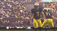 The Northern Illinois Huskies VS The Michigan Wolverines In A NCAA Football 10 Football Match This video showcases Gameplay of The Northern Illinois Huskies VS The Michigan Wolverines In A NCAA Football 10 Football Match