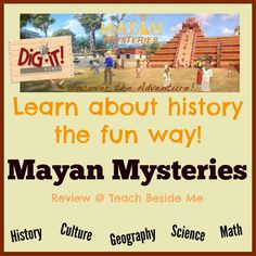Mayan Mysteries educational online game or app