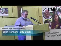 Thunder Bay Press Conference   Anti Racism June 13 2014