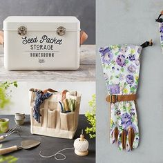 17 Best Gardening Gifts Every Plant Enthusiast Needs Shed Organization, Ribbon Organization, Shed Storage, Gardening Gloves, Gardening Tips, No Till Garden, Ways To Save Water, Shed Windows, Apple Baskets