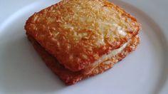 Rösti Toast mit Schinken und Käse