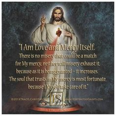 "The Feast of Divine Mercy ""The Servant of God John Paul II . wanted the Sunday after Easter to be dedicated in a special way to divine mercy, and providence disposed that he should die precisely on. Catholic Quotes, Catholic Prayers, Religious Quotes, Divine Mercy Sunday, Divine Mercy Chaplet, Gods Strength, Inner Strength, Special Prayers, Saint Quotes"